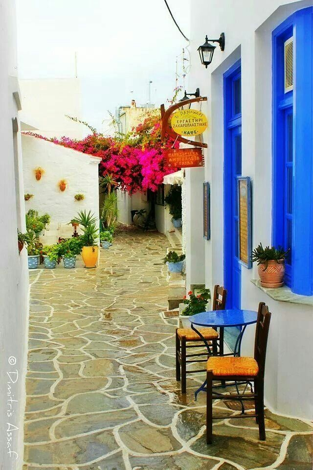 "Kythnos Xora, ""Amazing Greece"""
