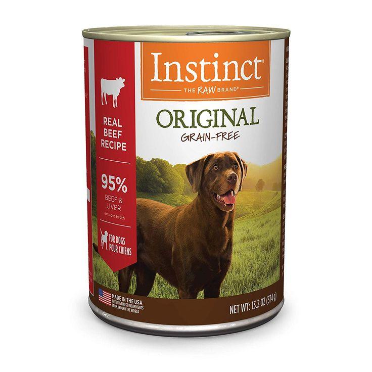 Instinct original grain free recipe natural wet canned dog