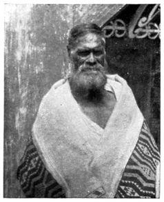 A Tohunga, Werewere te Rangi-pu-mamao, of Taupo (died about 1892).