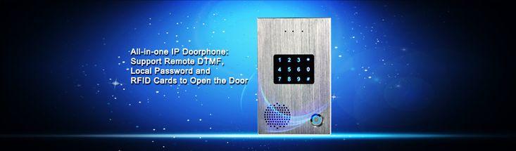 SIP Door Phone IP Door Intercom Smart Waterproof Phone with Touch Keypad support Swipe Card , https://myalphastore.com/products/sip-door-phone-ip-door-intercom-smart-waterproof-phone-with-touch-keypad-support-swipe-card/,