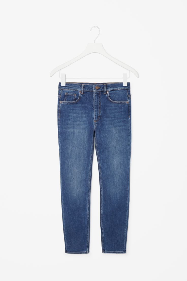Slim-fit cropped jeans