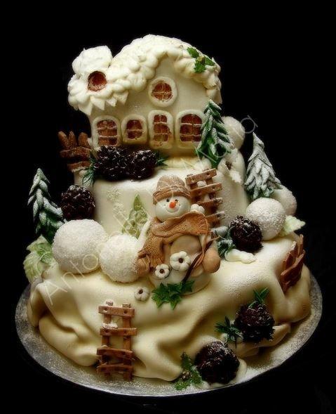 Winterland Cake (by Antoinella di Maria)