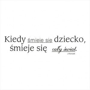 Stempel - Kiedy śmieje się... - J.Korczak CraftyMoly