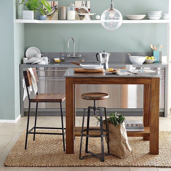 1000+ ideas about Small Rustic Kitchens on Pinterest | Rustic white kitchens,  Wood kitchen island and Diy kitchen island