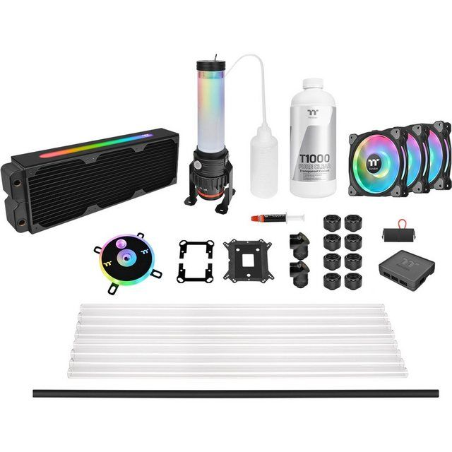 Wasserkuhlung Pacific Cl360 Max D5 Hard Tube Water Cooling Kit