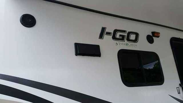 2016 New Evergreen iGO g240dbd Travel Trailer in Alabama AL.Recreational Vehicle, rv, Very light weight but roomy for the family. Sleeps 6 with bunkbeds and still has an out door kitchen. Power awning. Front spin tv that can be seen from the living area or the bedroom. Outside tv mount. Outside shower. Full bath. On sale!!! Only until 10-10-15!Construction • Steel I-beam frame • Laminated sidewalls, roof and floors • Tough fiberglass reinforced exterior • Fully welded DuraLite…