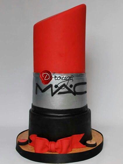 Torta labial MAC 100 % Comestible