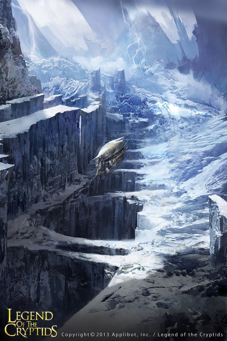 Artist: Leetai Kim aka On Sak - Title: Glacial Age - Card: Unknown