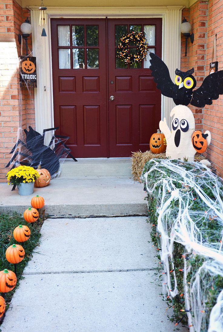 8 best images about halloween front door decoration on Pinterest - halloween front door decor
