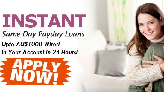 Apply for these loans with easy online way with instant approval for less-than creditors and cash advance on same day only for Australian Citizens.