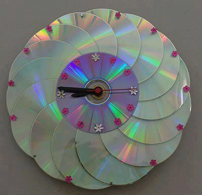 Cd into wall clock.