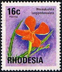 Rhodesia 1974 Wild Flowers SG 502 Fine Used SG 502 Scott 341 Condition Fine Used Only one post charge applied on multipule purchases