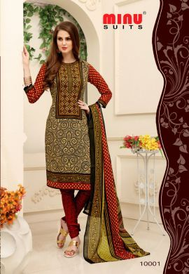 2d81f6c77e The Finest Beautiful Salwar Suit Cotton Chudidar Dress For Women,Minu Has  The Best Quality