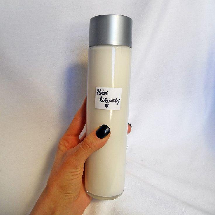 Homemade coconut milk – Házi kókusztej – Oatmeal_queen