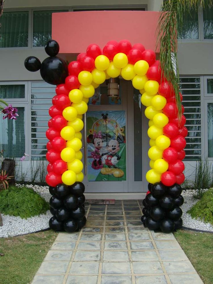 Mickey Mouse Club House Birthday Party Ideas | Photo 4 of 28 | Catch My Party