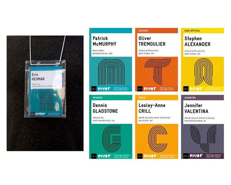 Identity Design, Name Badges, Public, Name Tags
