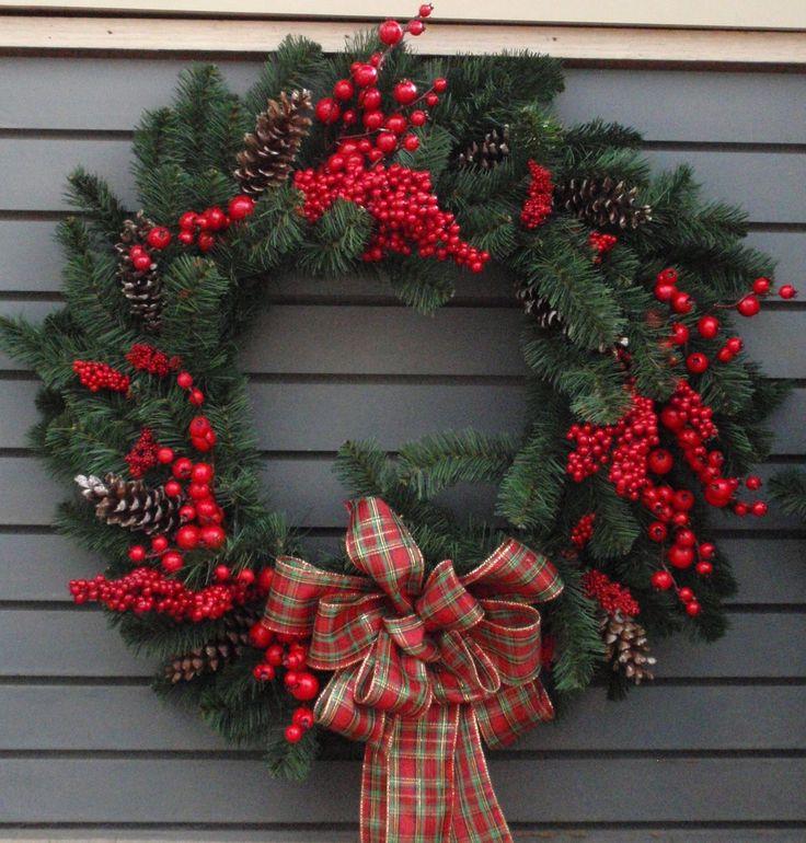 Red Berry Custom Wreath by Bremec