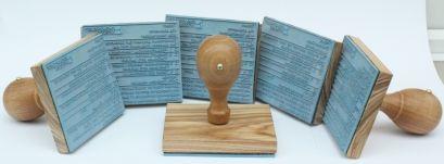 Dřevěná razítka od 49 kč - Dřevěná razítka   levně