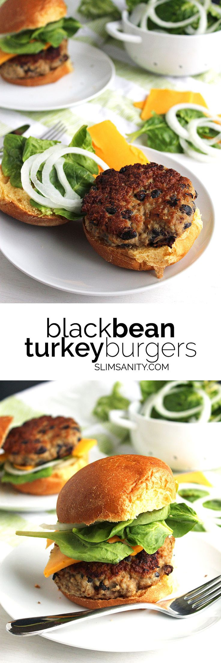 Black Bean Turkey Burgers - a hearty, delicious, and healthy alternative to a traditional burger! Pink Pad - the app for women - pinkp.ad