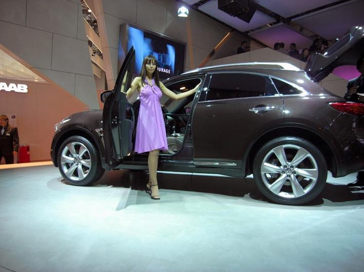 Infiniti at the Geneva Motorshow 2008