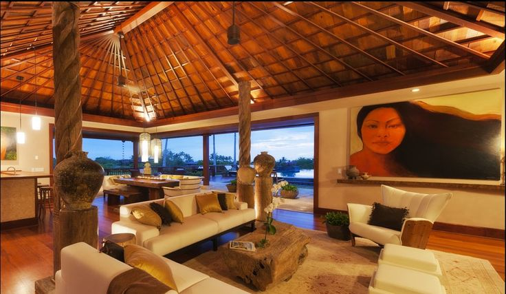 Polynesian Style Contruction House Plans And Home