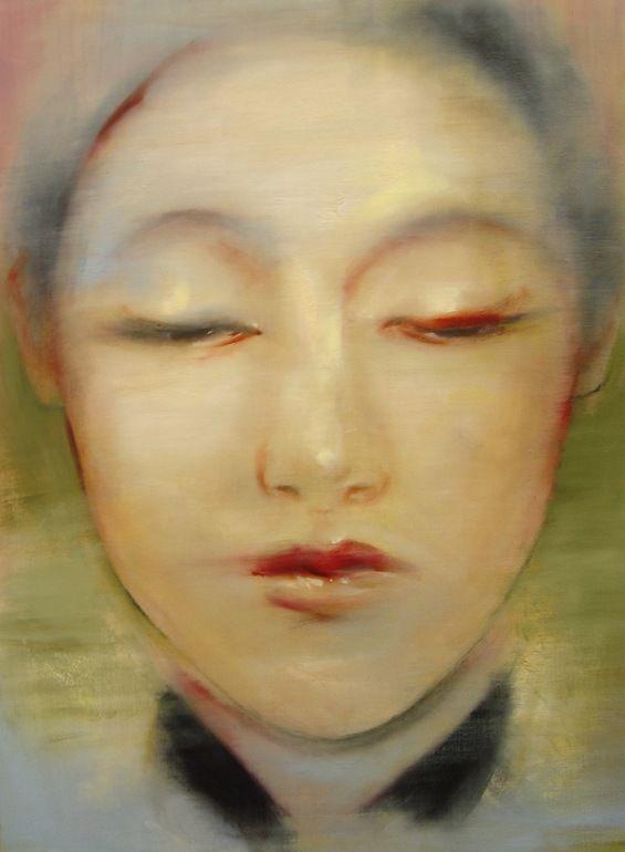"Saatchi Art Artist: Gregg Chadwick; Oil 2013 Painting ""Poem of the Moon - for Li Bai (Original Sold)"""