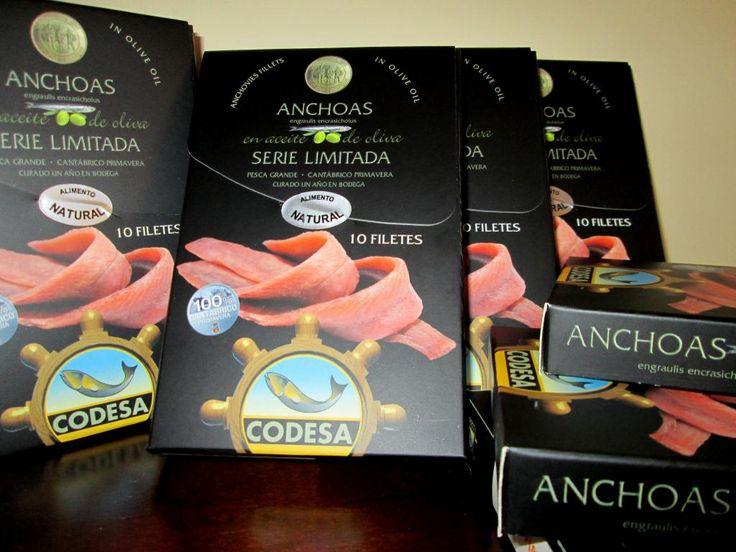 """ANCHOAS DE CANTABRIA """"CODESA"""" GOURMET. Venta en SpainSpecial."""
