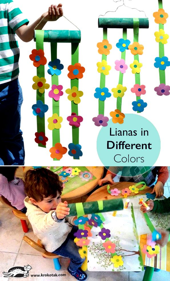 DIY Lianas in Different Colors