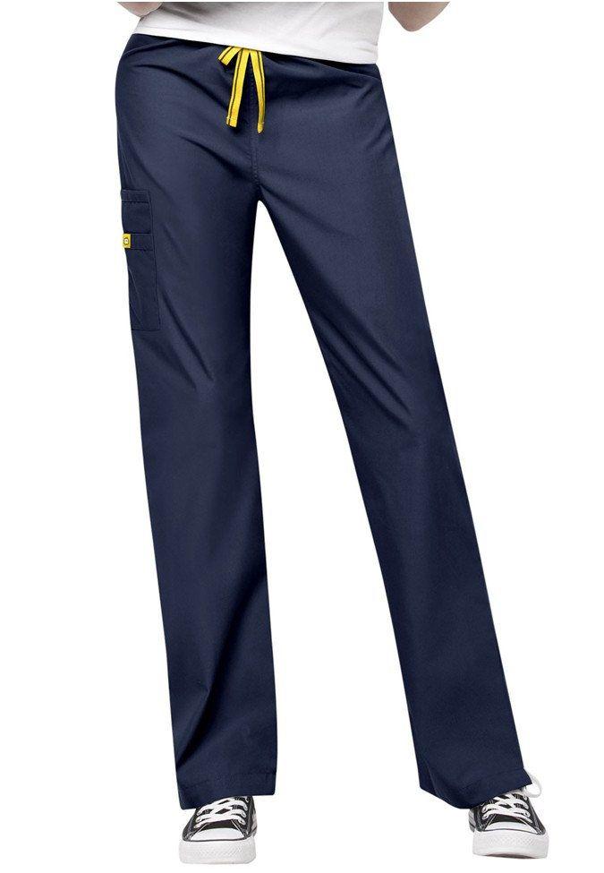 WonderWink Sierra unisex scrub pants. Main Image