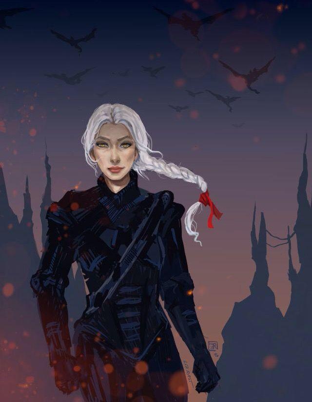 Manon Blackbeak, Wingleader of the Iron Teeth Witch Leagion and last Croachan Queen
