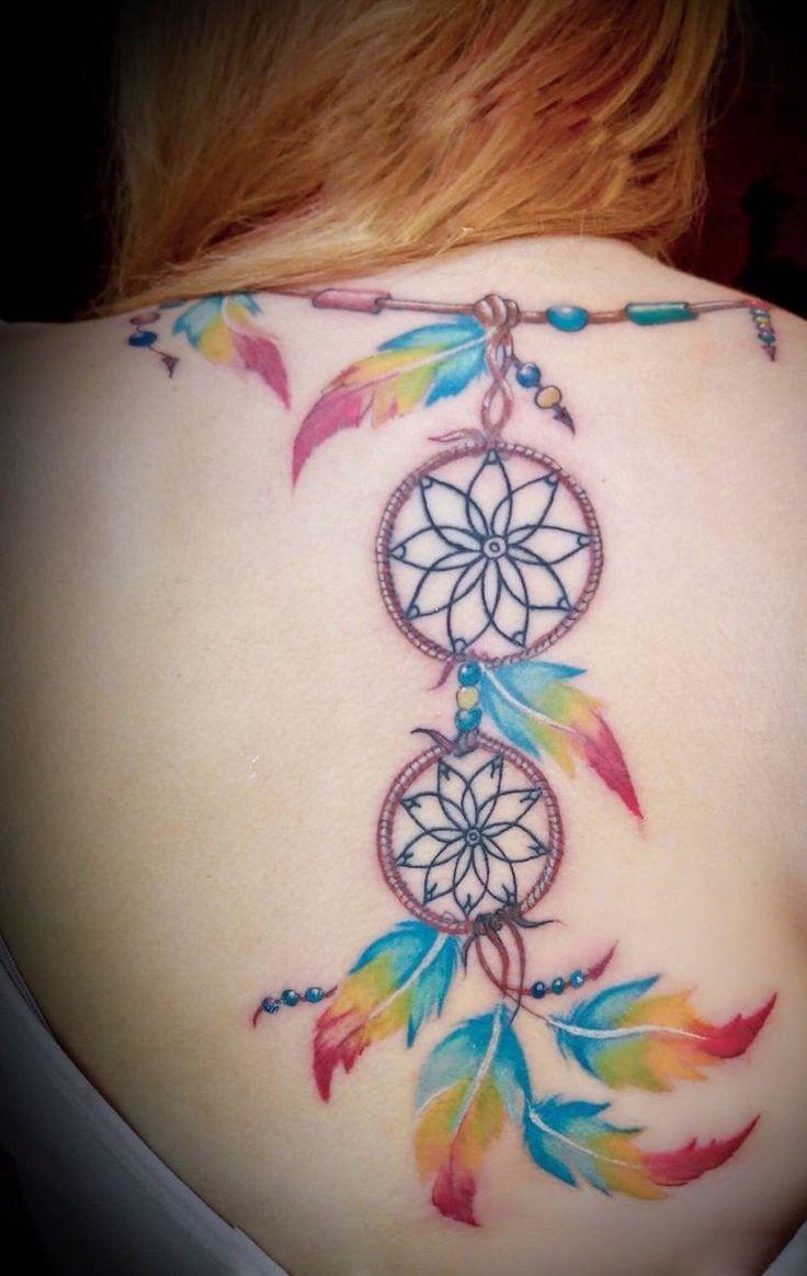 Les 25 meilleures id es de la cat gorie tatouage attrape reve dos sur pinterest tatouage - Signification attrape reve tatouage ...