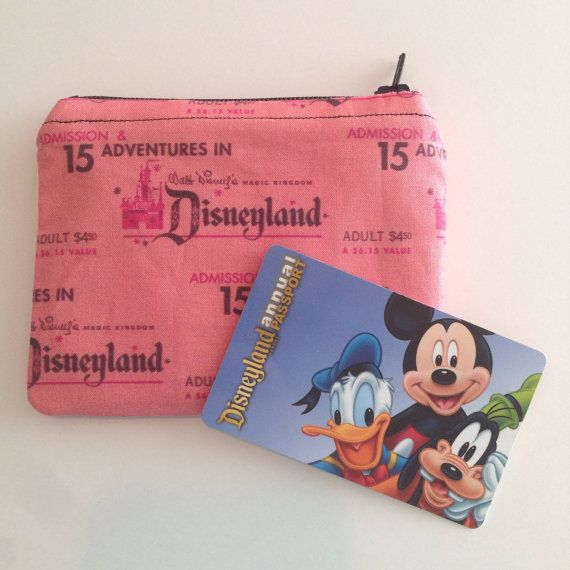 MINI Disneyland-Inspired Vintage Pink Ticket by ShopKWCreations