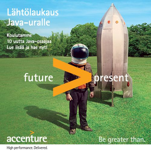 Accenture Academy for Future Java Professionals is here! Apply and kick start your career. www.futurejava.fi