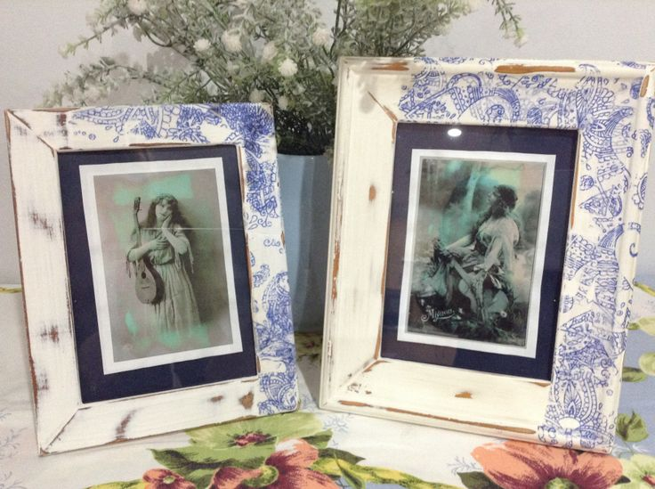 DIY Paint & Decorate Old Frames-Click Post to see QUICK,CHEAP & EASY ways to turn old frames into unique decor' to suit your home