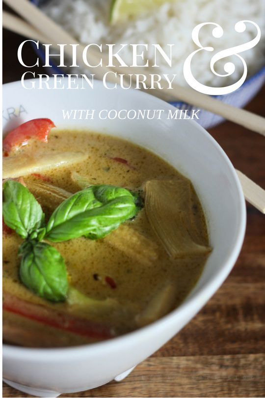 Chicken And Green Curry With Coconut Milk