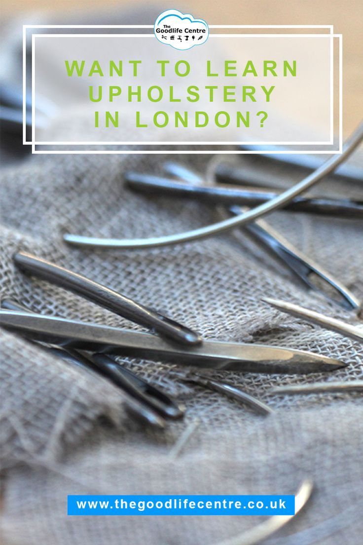 Intro To Upholstery Workshops In Central London Projects Pinterest