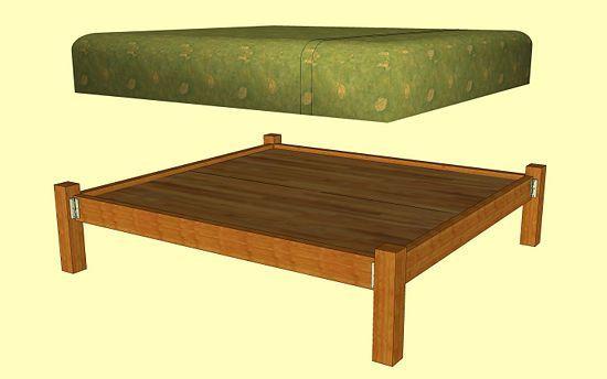 stoff kopfteil lehnen bett bed frames ideas frame wooden wooden bed ...