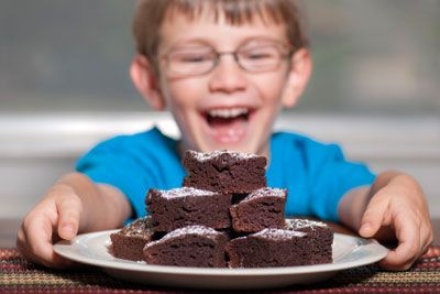 Brownies! Brownies! Looking for an easy recipe to make with the kids? How about from-scratch brownies?  http://www.familytime.com/Showarticle.aspx?ArticleId=1033