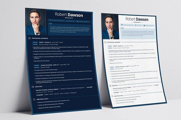 Resume/CV + business card   @creativework247