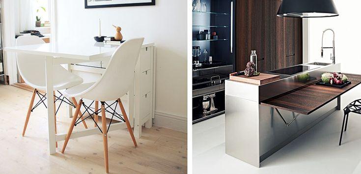 mesas en cocinas pequeñas - Buscar con Google