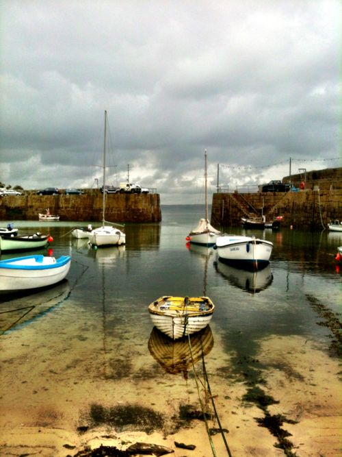 Mousehole Harbour, Cornwall -This is where I spent my summer holidays.