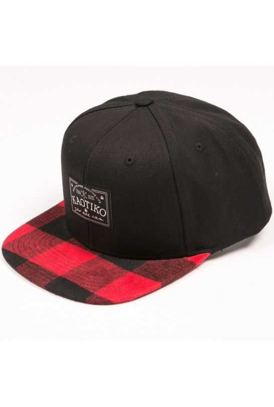 SNAPBACK KAOTIKO WE CAN CHEKED RED