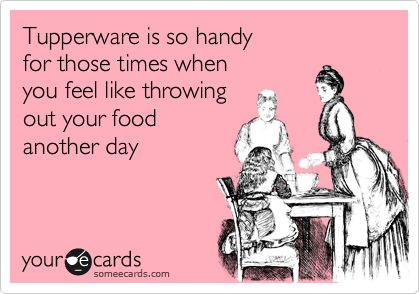 funny and true: Tupperware, My Life, Giggles, Funny Stuff, Ecards, House, So Funny, Totally Me, It Works
