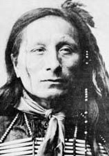 Short Bull-Was a Sioux Indian (c 1845 - 1915) a member of the Sioux tribe, was born about 1845. He was a warrior who fought at the Battle of the Little Big Horn, and a medicine man who brought the Ghost Dance religion to the Lakotas. After the murder of Sitting Bull,Short Bull was imprisoned at Fort Sheridan, Illinois. In 1891 Short Bull was released from custody and was permitted to join Bill Cody and his Wild West Show. Short Bull died on the Rosebud Reservation in South Dakota in 1915.