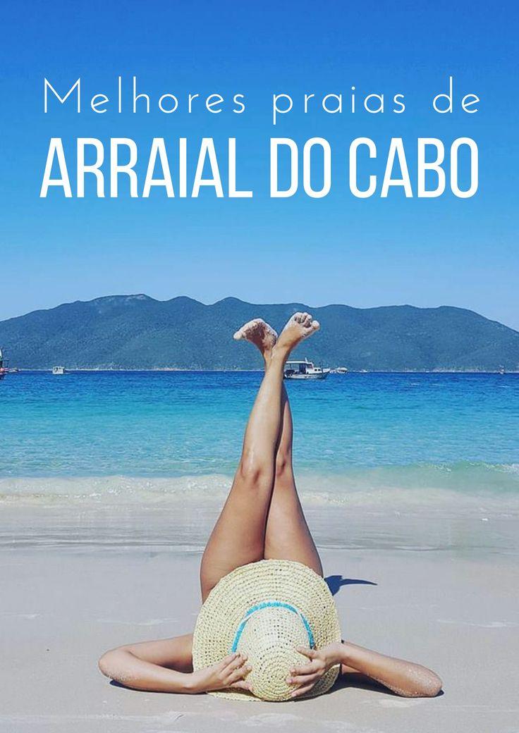 Arraial do Cabo é o paraíso? Siiim! Conheça as praias de arraial do cabo comigo e se jogue na Praia do Farol, a Prainha, Praia do Forno e muito mais.