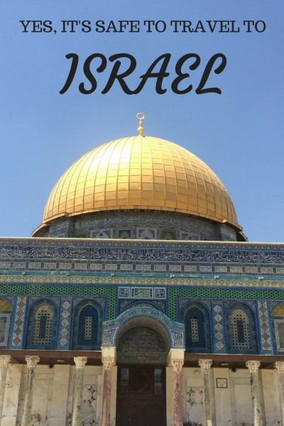 Israel is a fascinating, vibrant and culturally rich country. Don't be deterred by some of the stories that you hear in the media, Israel is a wonderful travel destination.