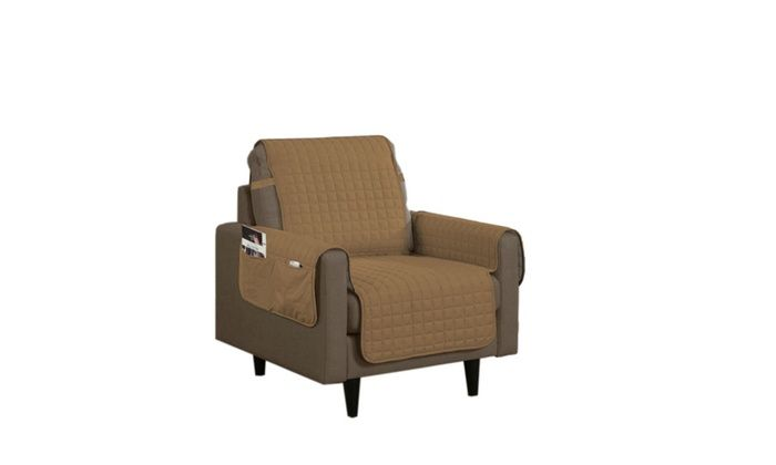 Linen Store, Inc.: Microfiber Furniture Slipcovers with 5 Inch Drop, Strap & Side Pocket