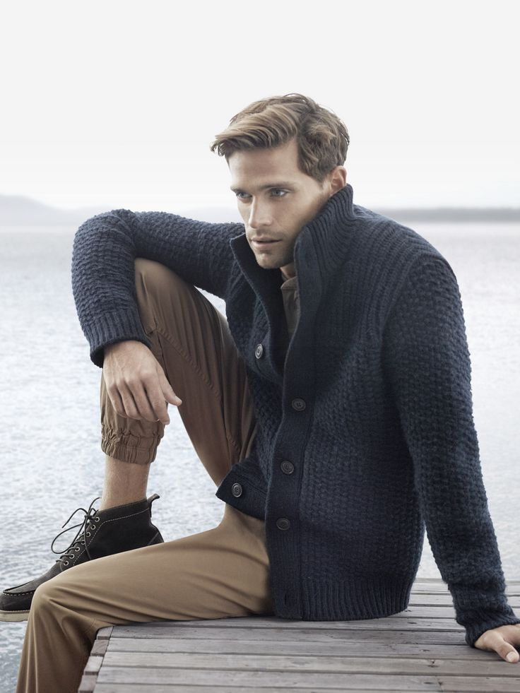 Adapt to changing conditions with robust knits and winter-ready outerwear. Explore Winter 2015 at http://www.countryroad.com.au/shop/man