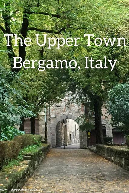 The Upper Town Bergamo Italy