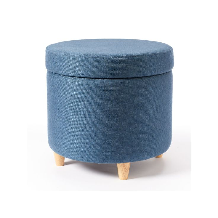 25 Best Ideas About Round Storage Ottoman On Pinterest Round Ottoman Storage Ottoman Coffee